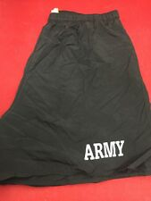 ONE PAIR US ARMY PFU Fitness Trunks PT Shorts Large