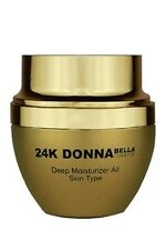 24K Donna Bella Deep Moisturizer For All Skin Type 1.7 Oz 50ml
