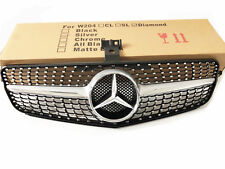 Mercedes Benz C-CLASS W204 Diamond Front Grille for  C180 C200 C300 08-14