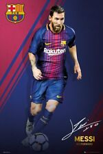 "LIONEL MESSI POSTER ""LICENSED"" BARCELONA FC 2018 ""BRAND NEW (61cmX91.5cm) ACTION"