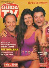 rivista NUOVA GUIDA TV ANNO 1991 NUMERO 36 GERRY SCOTTI, S. MESSAGGIO E VASTANO
