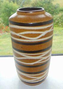 West German Scheurich Floor Vase Stick Stand Shape 517 - 38  c1970s 38cm