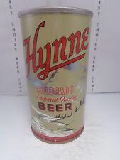 HYNNE STRAIGHT STEEL PULL TAB 12oz. BEER CAN #78-16-A  WALTER BREWING COLORADO
