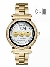 NEW! MICHAEL KORS GOLD SOFIE ACCESS TOUCHSCREEN SMARTWATCH MKT5021 SEALED BOX