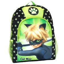 Boys Miraculous Backpack | Cat Noir Bag | Miraculous Ladybug Rucksack | NEW