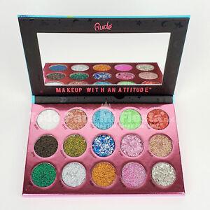 Rude Eyeshadow Glitter Palette Sin Of Glittony 8th Deadly Sin