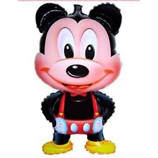 10x Mickey Mouse Classic Air Helium Foil Balloon For Kids..57 X 110CM