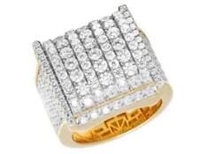 Anillos de joyería amarillo diamante
