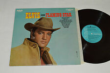 ELVIS PRESLEY Sings Flaming Star LP RCA Camden Canada Light Blue CAS-2304 VG/VG+