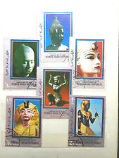 YEMEN ARAB Used Stamps Rare.6 pcs   #S1192