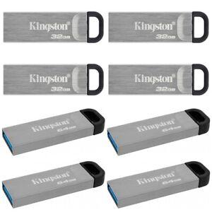 Kingston USB Stick 3.0 DataTraveler Kyson 32GB - 256GB Flash Drive Speicherstick