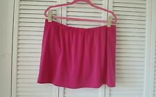 Avenue Swim size 20, 2X magenta bathing suit bottom skirt attached panties,