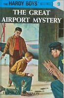 The Great Airport Mystery (Hardy Boys, Book 9) by Franklin W. Dixon
