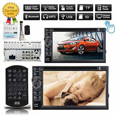 """Double 2 Din 6.2"""" In Dash Car Stereo Radio Mp3 Dvd Player Bluetooth For Hyundai(Fits: Charger)"""