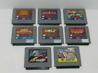 Nintendo Virtual Boy Games Fun You Pick & Choose Video Games Lot Tested