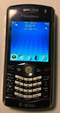READ @@ BlackBerry Pearl 8120 Blue Cell Phone T-Mobile Fast Ship Very Good Used
