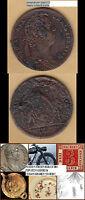 Louis XV. Jeton Rechenpfennig 1732 wohl Neumann 29976 ca. 7,55 g ca. 29.5 mm