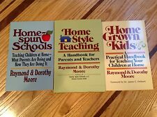 3 NEW Christian Raymond & Dorothy Moore Books on Home Schooling and Discipline