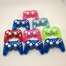 Lot of 9 Rock Candy PlayStation 3 Wireless Controller - Assorted Color for Parts