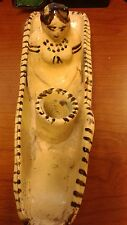 Antique Pottery Native American Indian candle holder  Handmade