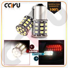 2X New 800lm Xenon White AX-2835 SMD 1156 1073 1003 LED DRL Lamp Light bulbs