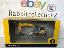 "Die Cast Movable Terra "" Excavator Rubberized New Holland WE170 Compact "" 1/87"