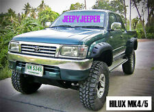 Jungle OFF-ROAD TOYOTA HILUX MK4 MK5 1997 - 2004 UTE FENDER FLARES WHEEL ARCH