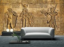 Ancient Egyptian Temple Photo Wallpaper Wall Mural DECOR Paper Poster Free Paste