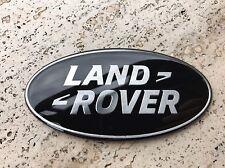 Stemma Borchia Ovale Land rover Per Range Rover Evoque/Sport Nero Black