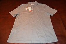 Men's Original Penguin Gray Cotton Polo Golf Shirt *New with Tags* Size SMALL