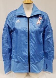 Brand New Women's Adidas WNBA Atlanta Dreams Full-Zip Court Jacket