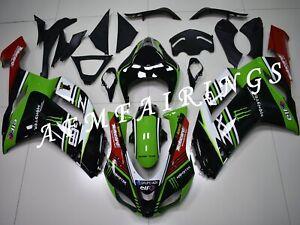 Motocard Racing ABS Injection Mold Bodywork Fairing Kit for Ninja ZX6R 2007 2008