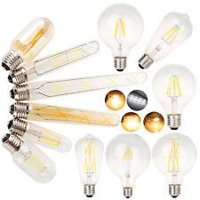 Винтаж ретро Edison лампы светодиодные E27 4 Вт 6 Вт 12 Вт светодиод света с лампой накаливания 110 В 220 В лампы