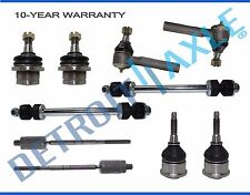 Ford Explorer Front Upper & Lower Ball Joint Inner & Outer TieRod Kit 10pc 4.0L
