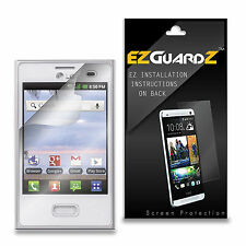 4X EZguardz Screen Protector Shield 4X For LG Optimus Logic L35G (Ultra Clear)