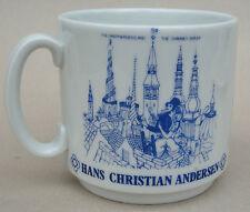 Coffee Mug Hans Christian Andersen Denmark 1960s Fairy Tales Swineherd 8oz Vtg