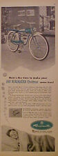 1953 AMF Roadmaster Bicycles Kids Chrismas~Holiday Come True Toy Boys Bike Ad