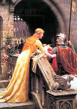 God Vitesse byEdmund Blair Leighton Knights Leaving pour Bataille Giclée Toile