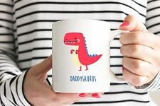 Daddysaurus Mug/Cup - Perfect Father's Day/Birthday Gift - Dinosaur/Dad/Gift
