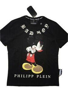 "T-shirt ""Philipp Plein"" uomo , tagila XL slim L !!!"