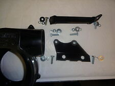 MG MIDGET AUSTIN HEALEY SPRITE HEATER BLOWER, MOUNTING BRACKETS LOWER & UPPER