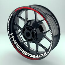 Rim Sticker Motorcycle Ducati Hyperstrada Look Set