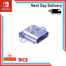 Nintendo Switch USB C Charging Port Replacement Socket Dock Solder Repair 12 Pin