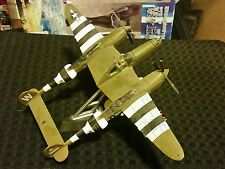Matchbox Collectibles Lockheed P-38 Lightning Green 1/72 Scale Diecast Nice