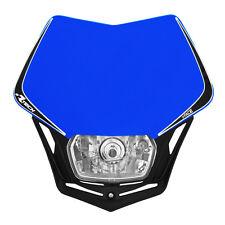 MASCHERINA PORTAFARO RACETECH V-FACE BLU (Blue Headlight) - COD.R-MASKBLNR008
