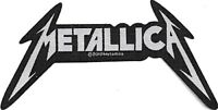 Official Licensed Merch Woven Sew-on PATCH Metal Rock METALLICA Shaped Logo