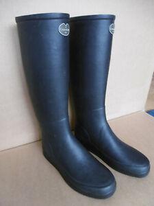 Le Chameau Paris Damen Gummistiefel schwarz noir black EU 41 rubber boots