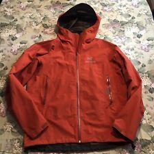 Arcteryx Gore-Tex Beta SL Jacket Orange Large