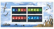 French Antarctic Terri. 2017 Districts & Territory Emblems Stamp Mini Sheet MUH