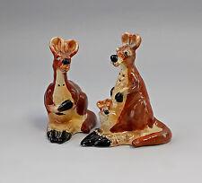 9952108 Keramik Figur Salz/Pfeffer-Streuer Känguruh Jameson&Tailor H11cm